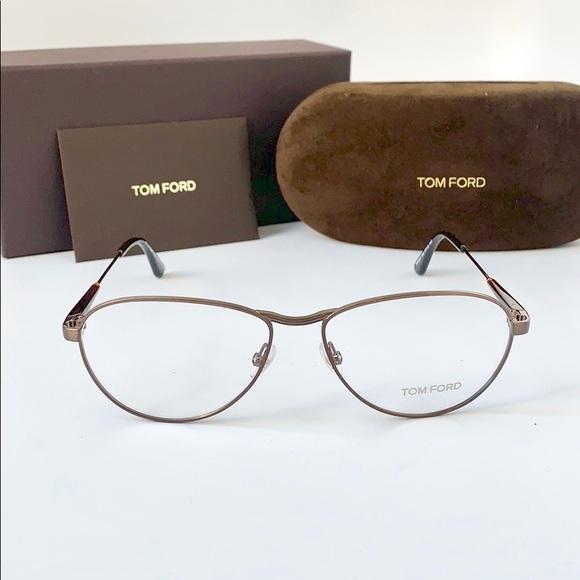 0c3486bc1388 Tom Ford Accessories | Eyeglasses Ft5297v 048opal Dark Brown | Poshmark